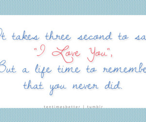 quotes, typo, and love image