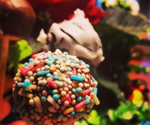 cake pops, sweet, and candy image