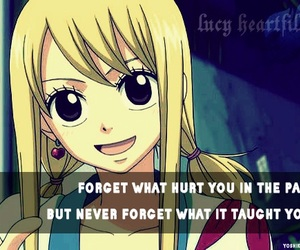 quote, anime, and Lucy image