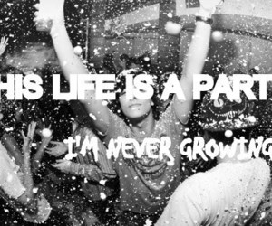 party, life, and black and white image