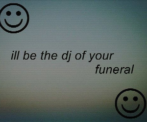 funeral, dj, and grunge image