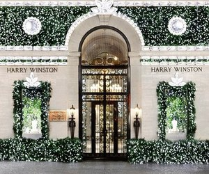harry winston, luxury, and christmas image
