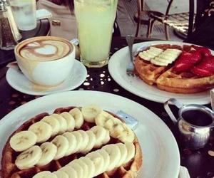 breakfast, fruit, and sweet image