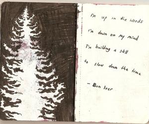 bon iver and Lyrics image