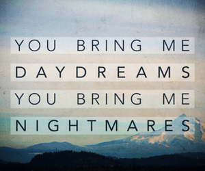 dreams, mountains, and nightmares quote image