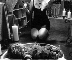 Chucky, doll, and girl image