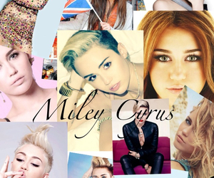 Collage, papelook, and miley cyrus image