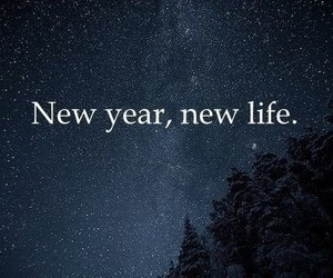 new year, life, and new image