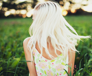 beautiful and blonde image