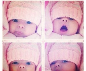 pink, cute, and baby image