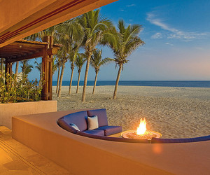 beach, luxury, and fire image