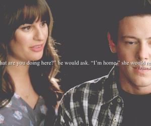 glee, quotes, and cory monteith image