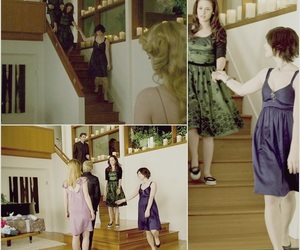 alice cullen, bella swan, and house image
