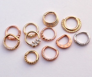 gold and septum image