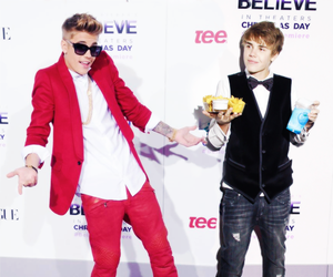believe, justin, and kidrauhl image
