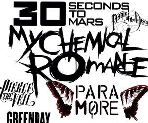 30 seconds to mars, all time low, and avenged sevenfold image