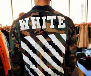 army, fashion, and white image