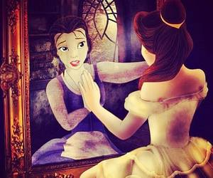 beauty and the beast, belle, and tale image