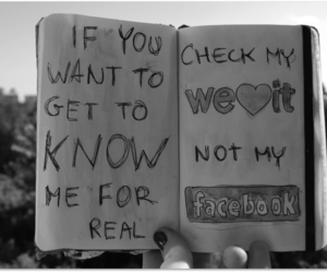 we heart it, not facebook, and we need we heart it image