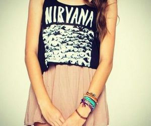 nirvana, fashion, and hipster image
