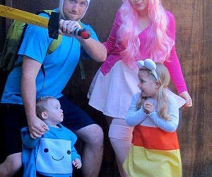 adventure time, cosplay, and family image