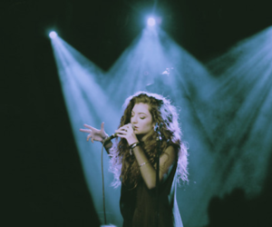 lorde, music, and grunge image
