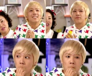blonde, ft island, and funny image