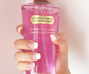 Victoria's Secret, pink, and nails image