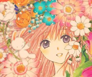 clamp, flower, and flowers image