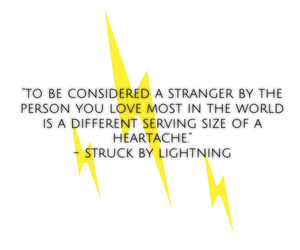 by, lightning, and chris colfer image