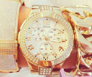 watch, guess, and gold image