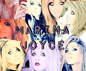joyce, makeup, and marina image