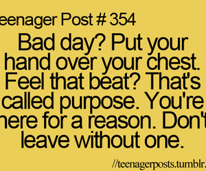 quote, bad day, and life image