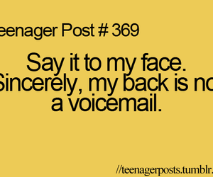 teenager post and face image