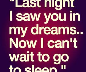 Dream, sleep, and love image