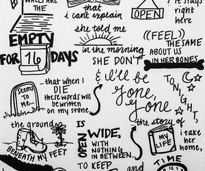 one direction, Lyrics, and story of my life image