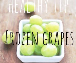 healthy, grapes, and food image