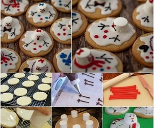 christmas, Cookies, and ideas image