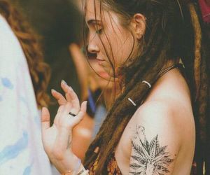 dreads, hippie, and peace image