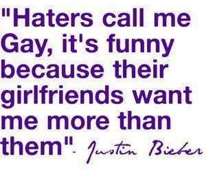 girlfriend and justin bieber image