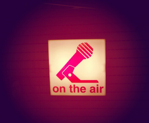 air and on the radio image