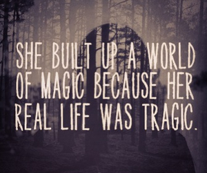 depression, hipster, and magic image