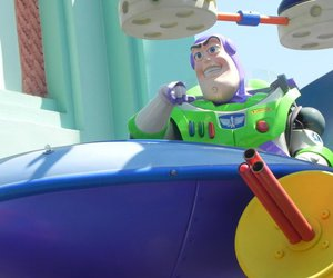 buzz, disney, and disney world image