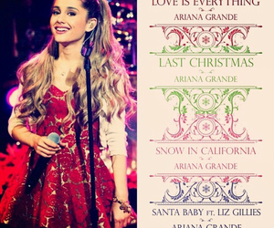 flawless, santa baby, and ari image