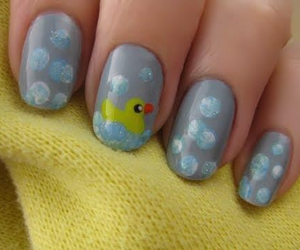 bubbles, duck, and nails image