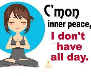 funny and peace image