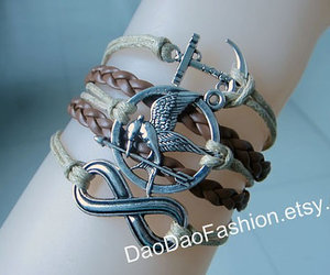 friendship, anchor bracelet, and gift image