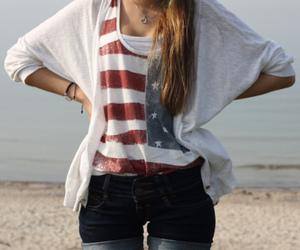 fashion, girl, and usa image