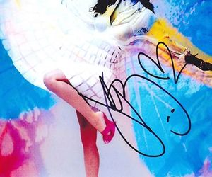 beautiful!!, katy perry, and autographed photo image