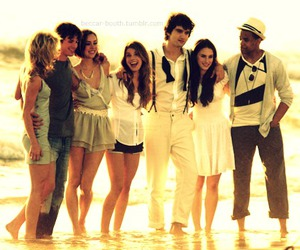 90210, friends, and beach image